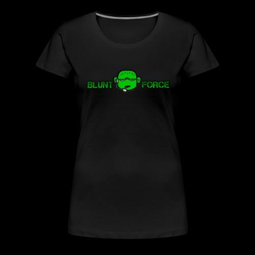 The Blunt Force - Premium-T-shirt dam