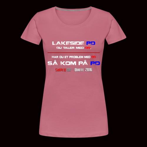 DD på PD Kollektion 2016 - Dame premium T-shirt