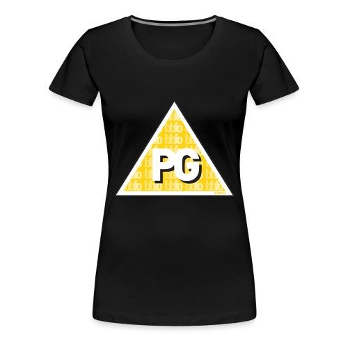 Plato games Logo Groot - Vrouwen Premium T-shirt