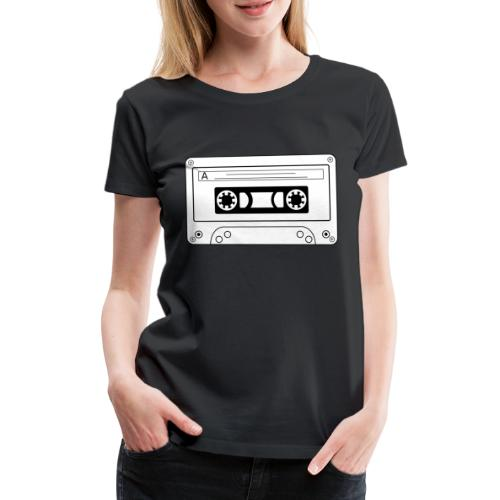 Casette Old Scool - Frauen Premium T-Shirt