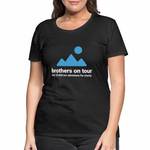 Brothers on Tour - Logo 1 - Frauen Premium T-Shirt