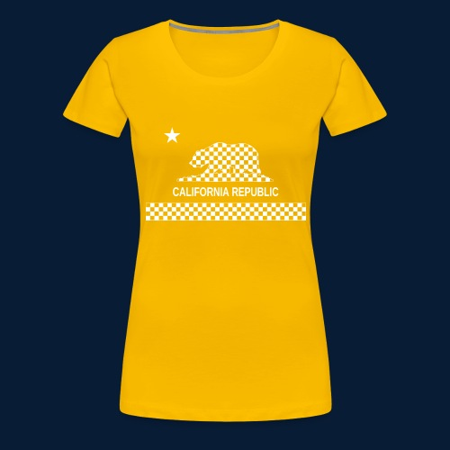 California Republic - Frauen Premium T-Shirt