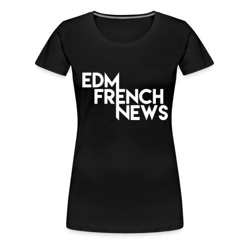 Casquette EFN - T-shirt Premium Femme
