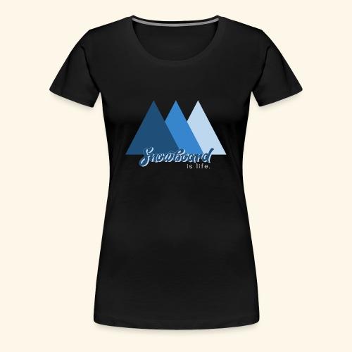 snowboard - T-shirt Premium Femme