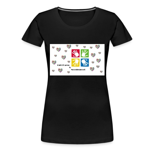 Bestsellers Out Of Area - Vrouwen Premium T-shirt