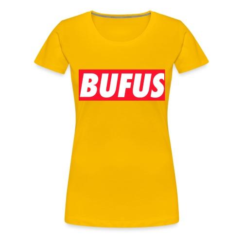 BUFUS - Maglietta Premium da donna
