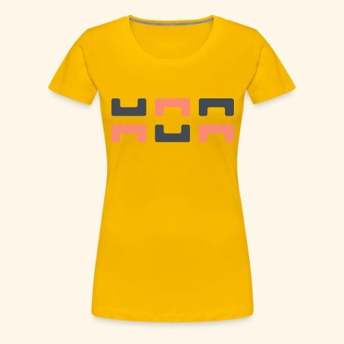 Bezier Elephant, by Hoa - Women's Premium T-Shirt