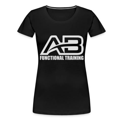 DEF_AB_DARK_BACKGROUND - Maglietta Premium da donna