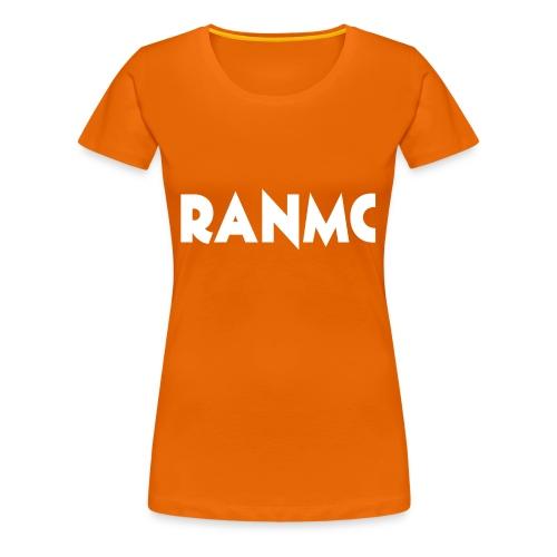RANMC WIT png - Vrouwen Premium T-shirt