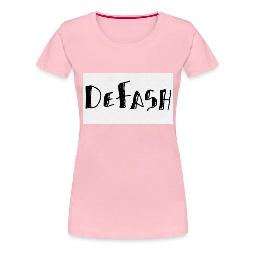 Defash1-png - T-shirt Premium Femme