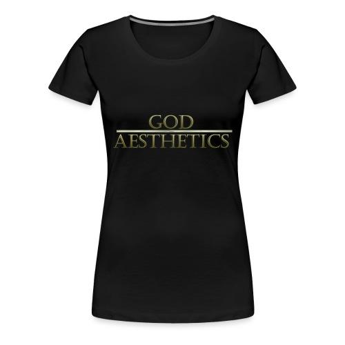 God Aesthetics Aesthetics Warrior Fitness Shredded - Women's Premium T-Shirt
