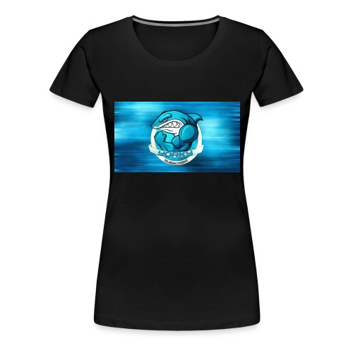 Shark_logo - Maglietta Premium da donna