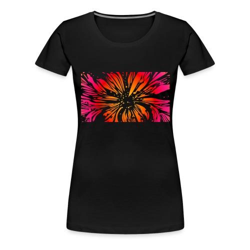 pétales sauvages - T-shirt Premium Femme