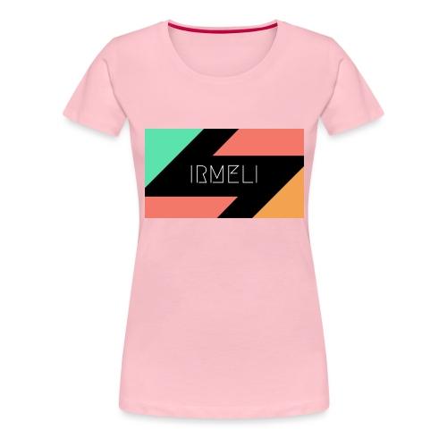 Irmelis Logo glothes - Naisten premium t-paita