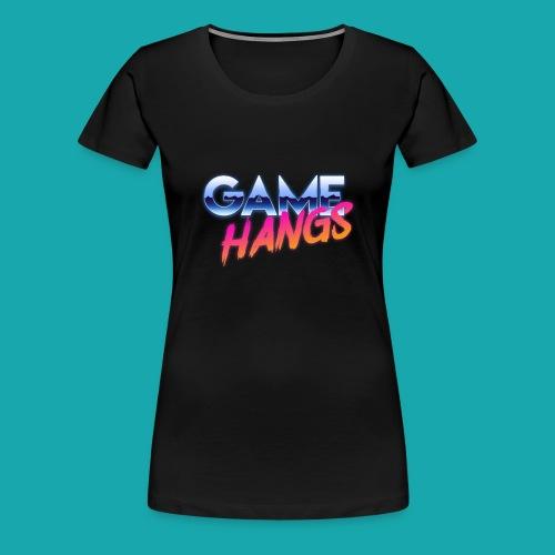 GameHangs Snapback - Women's Premium T-Shirt