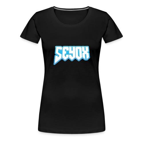Seyox Logo - Vrouwen Premium T-shirt