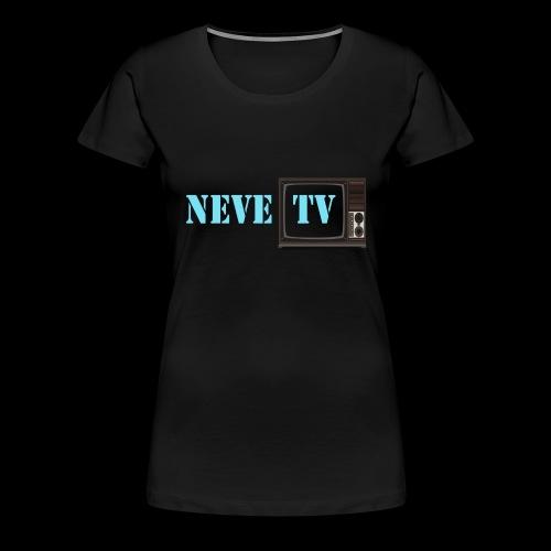 NeveTV png - Premium T-skjorte for kvinner