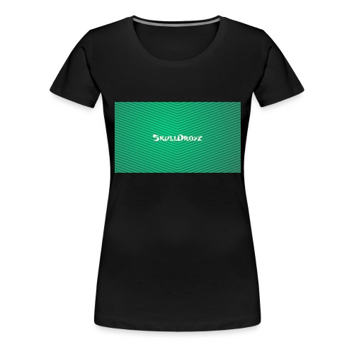 backgrounder - Frauen Premium T-Shirt