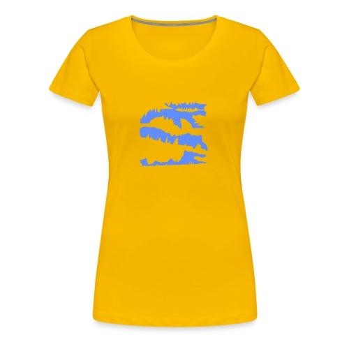 Blue_Sample.png - Frauen Premium T-Shirt
