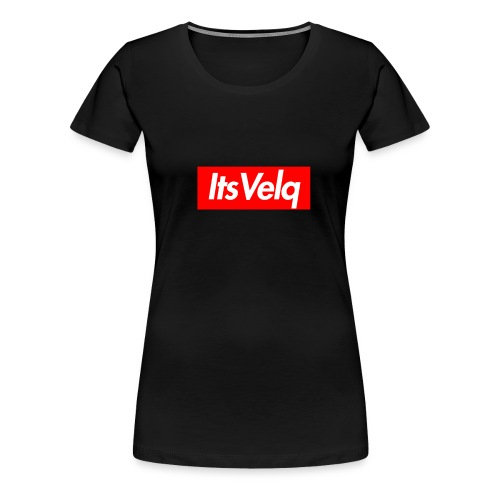 Velq Box Logo - Women's Premium T-Shirt