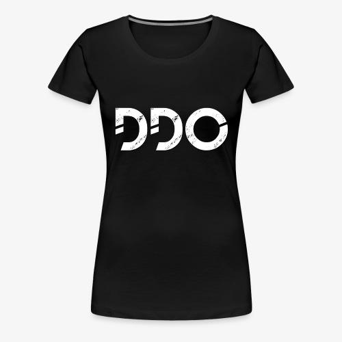 DDO in het wit. - Vrouwen Premium T-shirt