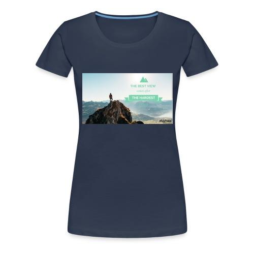 fbdjfgjf - Women's Premium T-Shirt