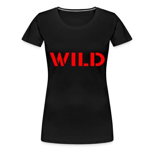 RED WILD Sweatshirt - T-shirt Premium Femme