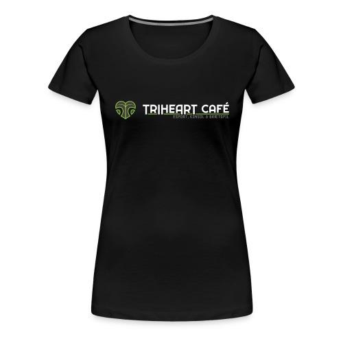TRIHEART LOGO NY WHITER - Dame premium T-shirt