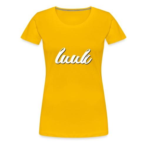 Luuk Logo - Vrouwen Premium T-shirt