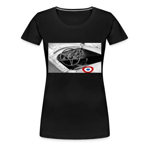 gentleman driver - T-shirt Premium Femme