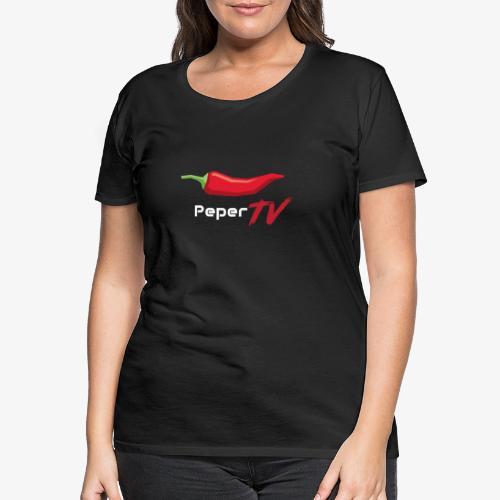 PeperTV - Vrouwen Premium T-shirt