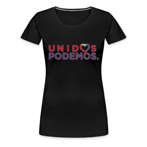 Taza Unidos Podemos 2016 Blanca - Camiseta premium mujer