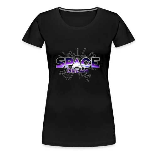 SPACE DREAM - T-shirt Premium Femme