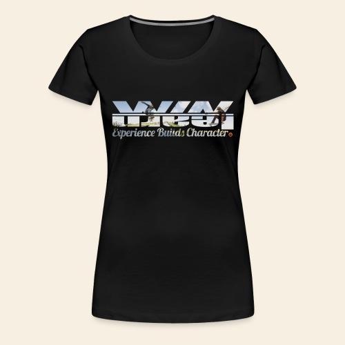Skater Logo Tee - Vrouwen Premium T-shirt