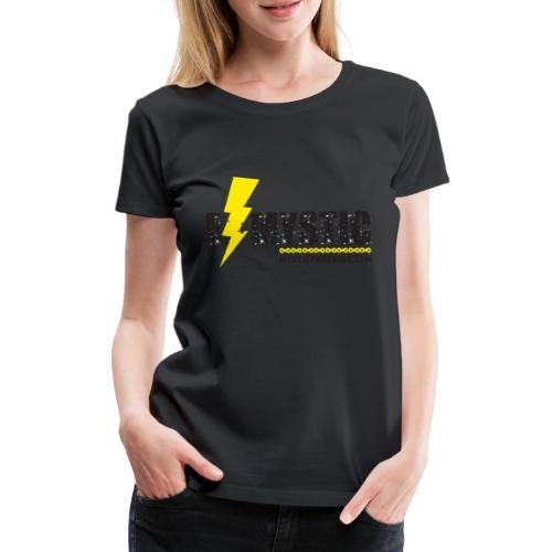 E MYSTIC scritta - Maglietta Premium da donna