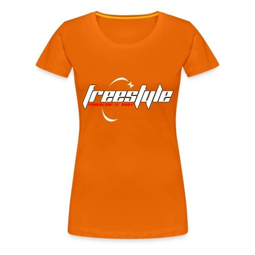Freestyle - Powerlooping, baby! - Women's Premium T-Shirt
