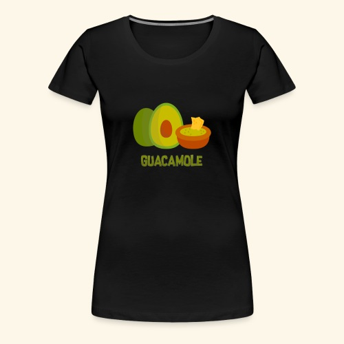 Guacamol1e - Premium-T-shirt dam