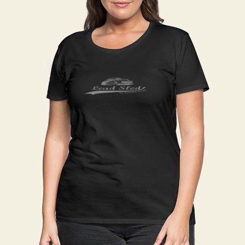 lead sled grey - Dame premium T-shirt