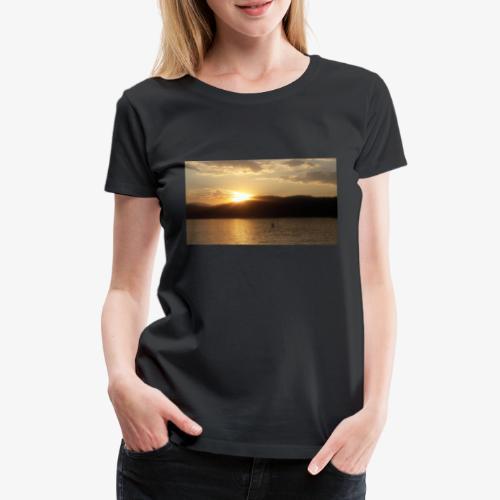 Der Wörthersee - Frauen Premium T-Shirt