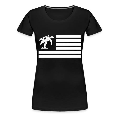 palmier - T-shirt Premium Femme
