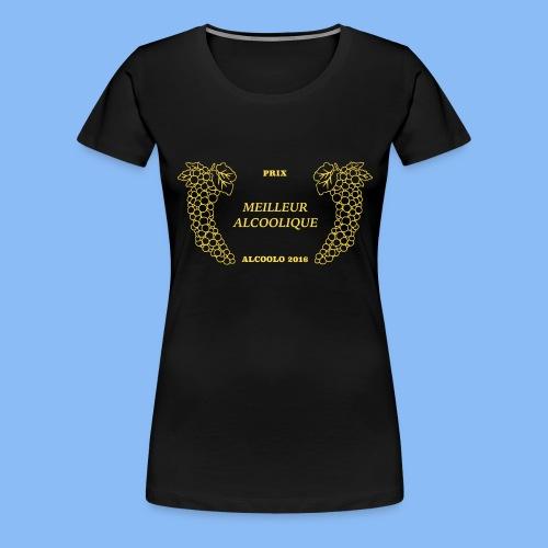 MeilleureAlcoolique - T-shirt Premium Femme