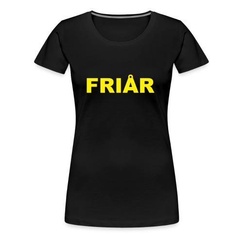 Logo unisex hettegenser - Premium T-skjorte for kvinner