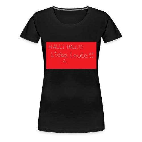 Erstes Merch xD - Frauen Premium T-Shirt