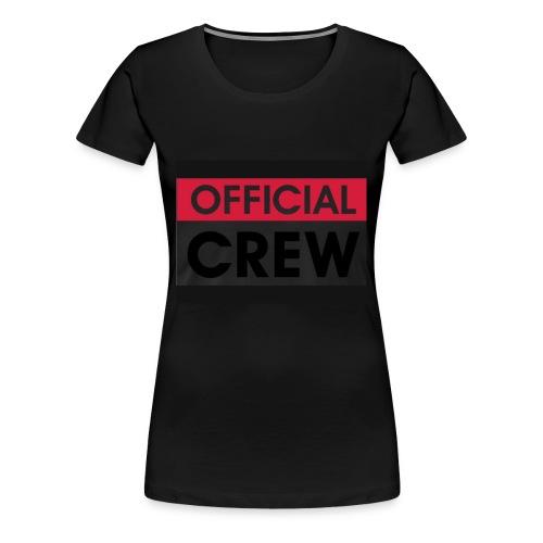 Official crew stuff - Women's Premium T-Shirt