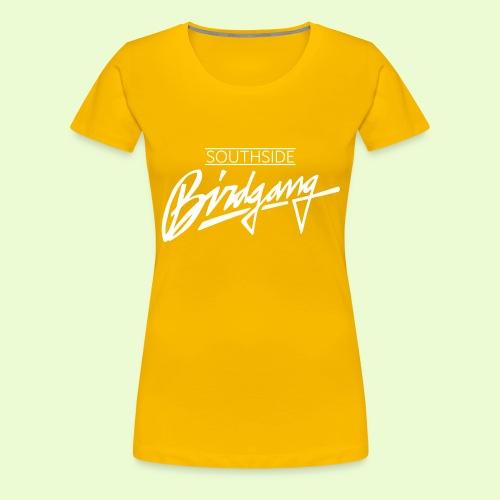 BIRDGANG - Naisten premium t-paita