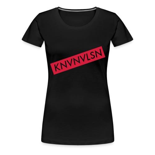 LOGOKNVNVLSN copy - Vrouwen Premium T-shirt
