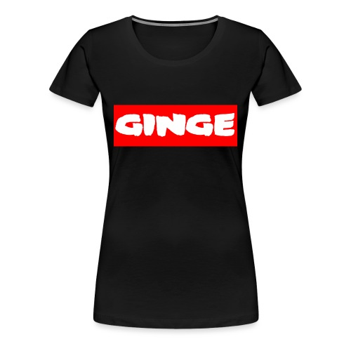 GINGE RED - Women's Premium T-Shirt