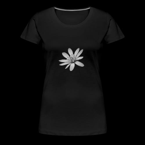 Nic Pic Blume1 - Frauen Premium T-Shirt