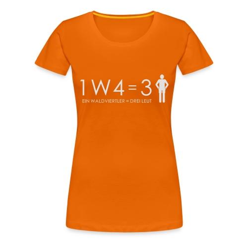 Teddy - Frauen Premium T-Shirt