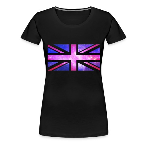 Galaxy Union Jack - Women's Premium T-Shirt